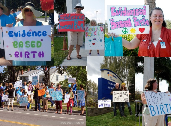 Evidence Based Birth® at Rallies all over the U.S.! Credit for some photos: Jessica Anders Photography