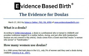 Doula preview