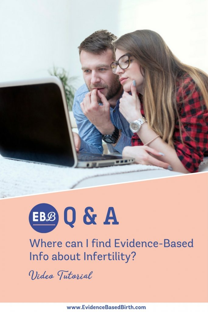 Evidence Based Birth® | Infertility Pinterest