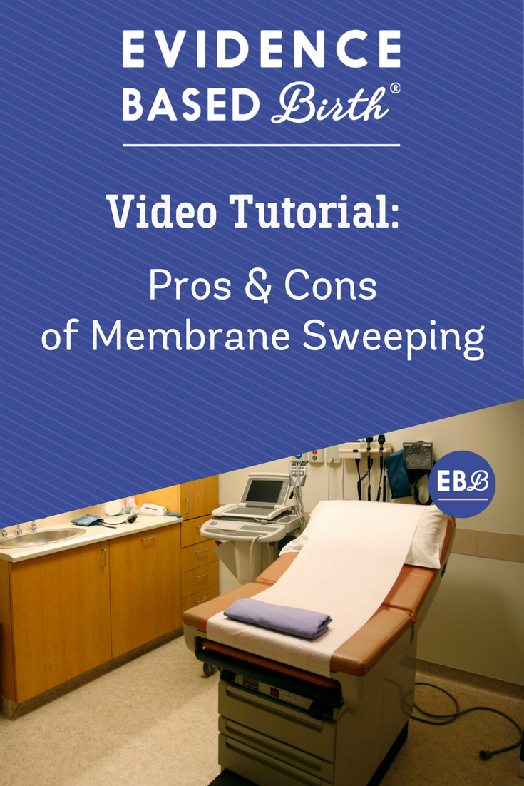 The Evidence on Membrane Sweeping
