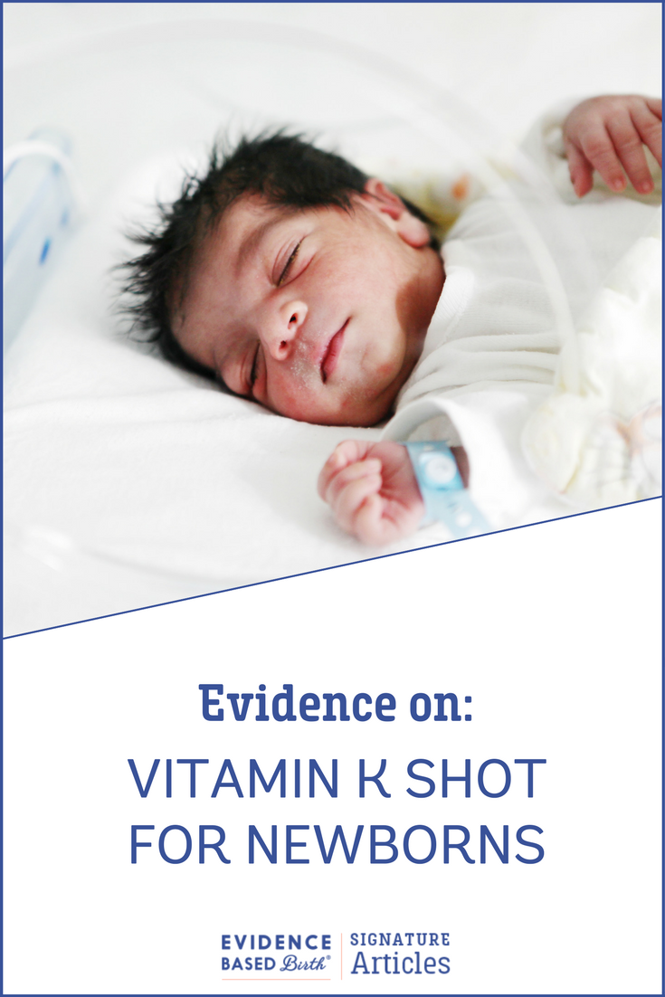 Evidence Based Birth® | Evidence on: Vitamin K for Newborns