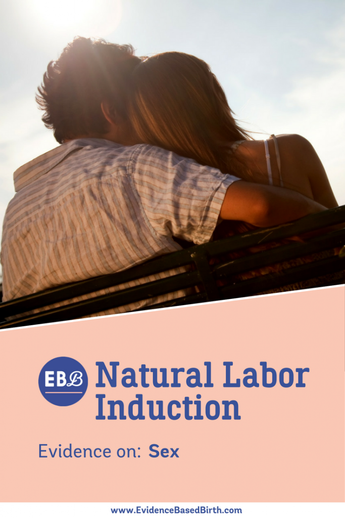 "Evidence on using ""You-Know-What"" to Naturally Induce Labor."