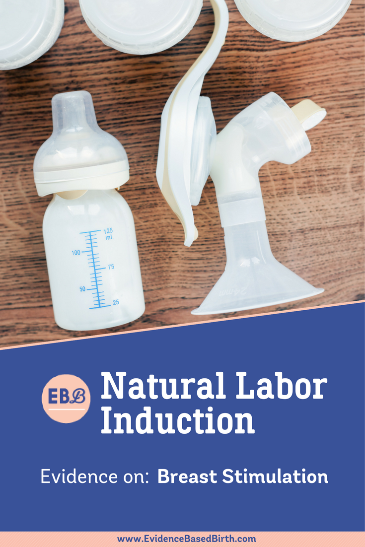 Breast Stimulation for Natural Labor Induction Pinterest