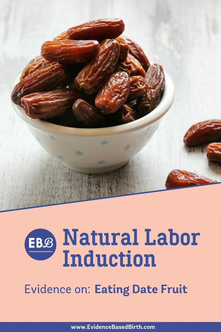Eating Date Fruit to Start Labor Pinterest