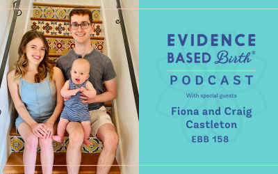 EBB 158 – Empowering Hospital Birth Experience during COVID-19 with Fiona and Craig Castleton