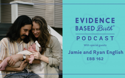 EBB 162 –  Preparing and Powering through Birth During the COVID-19 Pandemic with Jamie and Ryan English
