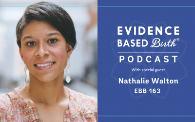 EBB 163 – Stress and Anxiety During Pregnancy with Nathalie Walton, CEO of Expectful