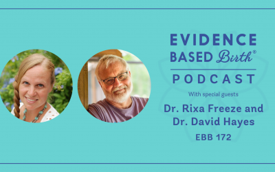 EBB 172 – Breech Vaginal Birth with Dr. Rixa Freeze and Dr. David Hayes