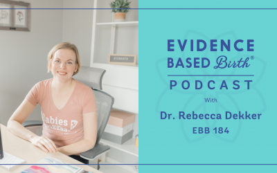 EBB 184 – How Research Evidence is Carried Out with EBB Founder Dr. Rebecca Dekker