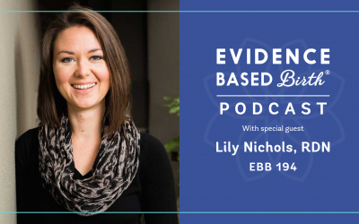 EBB 194 – Nutrition and Real Food in Pregnancy with Lily Nichols RDN
